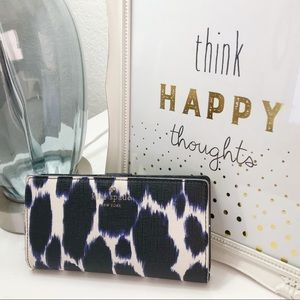 Well Loved Kate Spade Stacey Wallet Animal Print